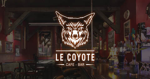 Logo le coyote bar